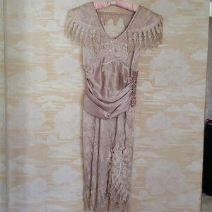 Vintage Lace Dress Cachet by Bari Protas